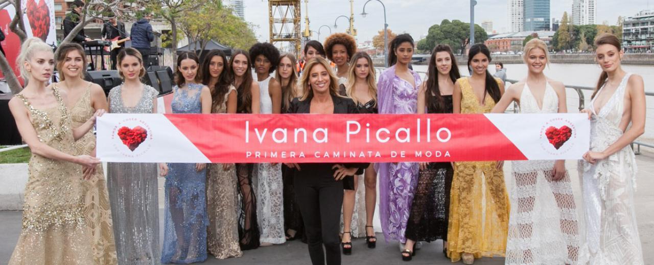 Caminata de Diseño by Ivana Picallo: moda a beneficio de las mujeres que más lo necesitan