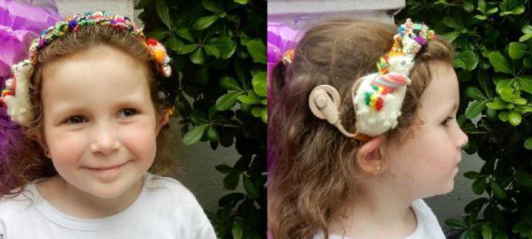 Desfile de peinados, audífonos e implantes cocleares en el Instituto Oral Modelo