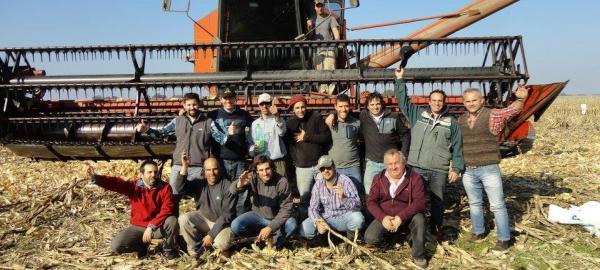 Chascomús: Jornada de cosecha solidaria a beneficio de un comedor