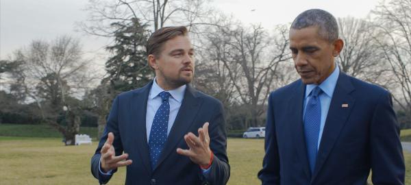 Leo DiCaprio presenta su película sobre cambio climático en Argentina