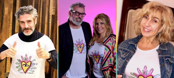 Famosos solidarios se suman a la campaña #ModaPocoFrecuente