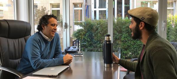 Entrevistaa Jordi Musons, director de la Escola Sadako