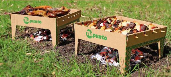 La parrilla ecológica, un invento argentino