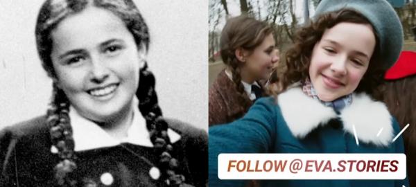 A través de Instagram replican la historia de una niña judía víctima del Holocausto